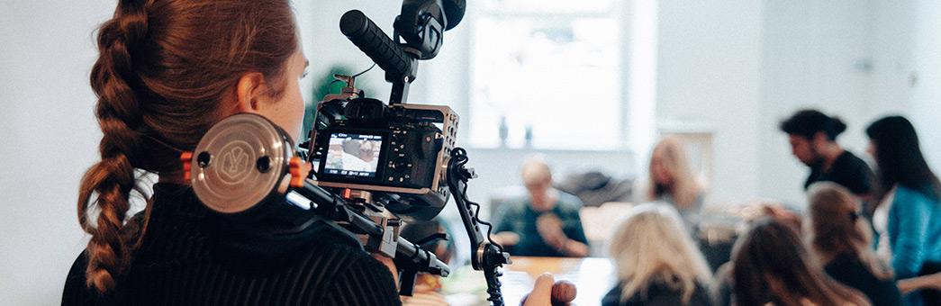 Atlanta video production camera operator