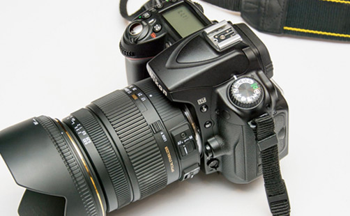 photography services and digital camera