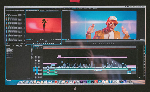 Post production services video editing