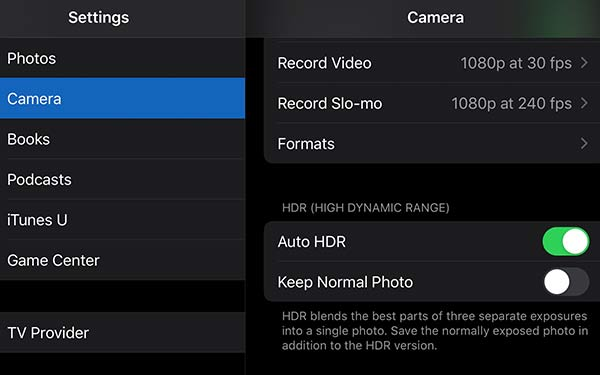 How to take good pictures with a phone and turning on hdr settings