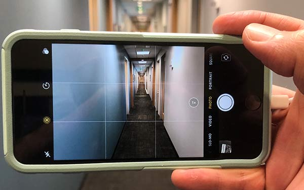 How to take good pictures with a phone in landscape mode