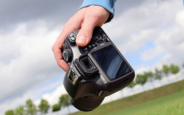Camera for capturing vlog footage