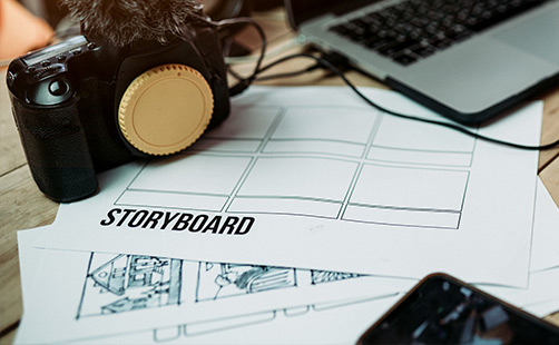 video production storyboard services