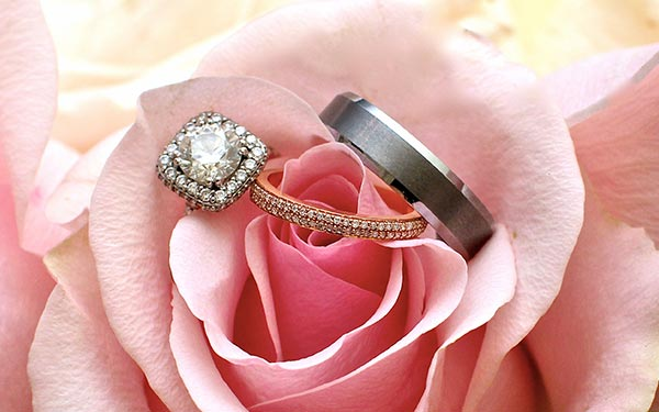 Plan to have your wedding rings sized and ready by the time you get married